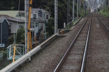 2019年9月8日。東久留米〜清瀬駅間。下り列車の車内から。