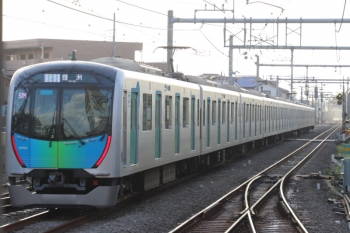 2019年9月17日。ひばりヶ丘。1本目のS-Train 豊洲ゆき502レ(52M運用)は40104F。
