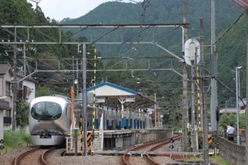 2019年9月23日 12時57分ころ。東吾野。001-B編成の下り回送列車。