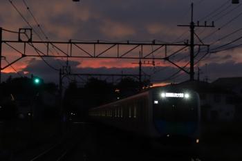 2019年9月23日。元加治。40000系のS-Train 404レ。