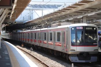 2019年10月5日。所沢。東急4105Fの2136レ。