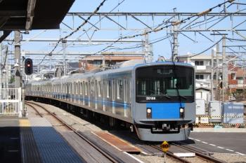 2019年10月5日 12時16分。所沢。20156Fの上り回送列車。