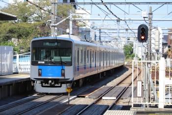 2019年10月5日 12時26分。所沢。20156Fの下り回送列車。