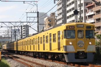 2019年10月7日。高田馬場〜下落合。2007F+2417Fの2644レ。