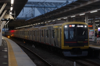 2019年10月9日。所沢。東急4110Fが代走の6802レ(22M運用)。