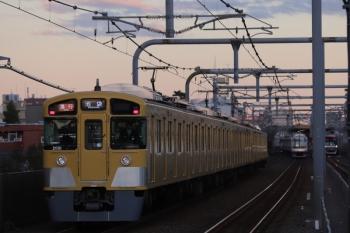 2019年10月13日。富士見台。左から、2091Fの2158レ、東急5165Fの6620レ、メトロ10033Fの6307レ。