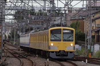 2019年10月20日 15時31分ころ。西所沢。263F+1241Fの下り列車。