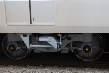 2019年10月20日。メトロ10025Fのとある台車。