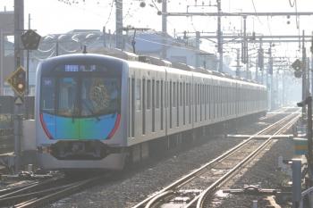 2019年11月1日。ひばりヶ丘。4番ホームから発車した40102Fの4652レ(54M運用)。
