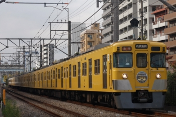 2019年11月13日。高田馬場〜下落合。2007F+2457Fの2332レ。