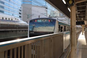 2019年11月16日。有楽町。田町ゆきの京浜東北線の南行列車。