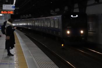 2019年12月21日 6時10分ころ。練馬高野台。20153Fの上り回送列車。