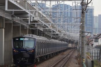 2019年12月26日 9時0分ころ。西大井。相鉄12000系の埼京線の上り列車。