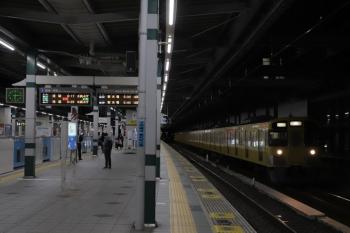 2019年1月3日  6時14分ころ。練馬。2063Fの上り回送列車。