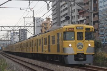 2020年1月7日。高田馬場〜下落合。2007F(50周年)+2405Fの2332レ。