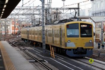 2020年1月12日 7時43分ころ。所沢。6番線から新秋津駅へ発車した263F。