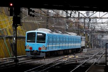2020年1月18日 15時5分ころ。新秋津。八王子へ向かう、西武1251F+EF65-2075の貨物列車。