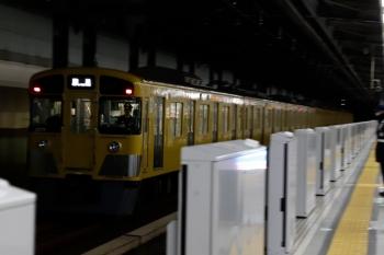 2020年1月25日 6時13分ころ。練馬。通過する2079Fの上り回送列車。