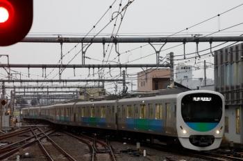 2020年1月26日7時13分ころ。飯能。きっと武蔵丘から回送されてきた38111Fが1番ホームへ到着。