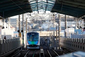 2020年2月9日 16時33分ころ。大倉山。飯能ゆきS-Trainのための西武40101Fの送り込みの回送列車。