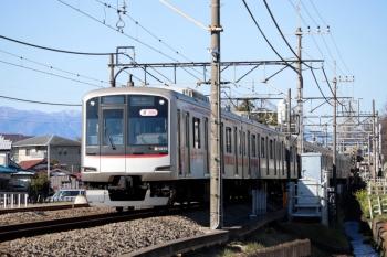 2020年2月11日 10時30分ころ。元加治。東急5159Fの上り回送列車。
