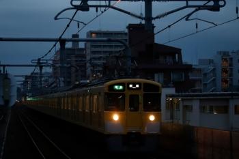 2020年2月13日。富士見台。2465F+2063Fの4105レ。