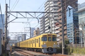 2020年2月19日。高田馬場〜下落合。2003F+2409Fの2332レ。