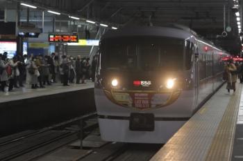2020年2月26日。所沢。10110Fの33レ。001-E編成の42レは先に発車。