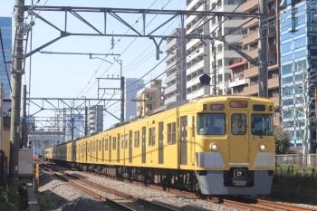 2020年2月28日。高田馬場〜下落合。2003F+2459Fの2332レ。