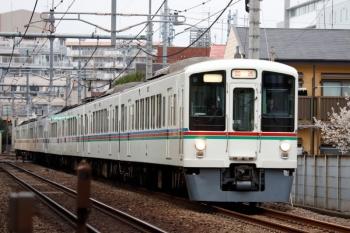 2020年3月7日。東長崎〜江古田。4015F+4003Fの1001レ用の上り送り込み回送列車。