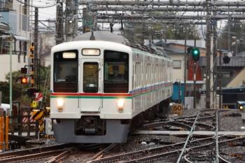 2020年3月14日。飯能。秩父鉄道から直通の6002レ。4023F+4015Fです。