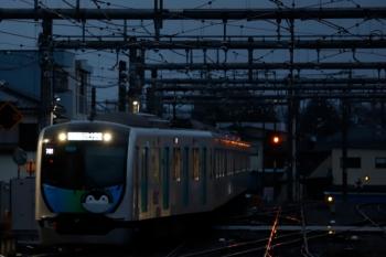 2020年3月14日。飯能。西武秩父から元町・中華街へ走るS-Train 404レは40103F(コウペン)でした。