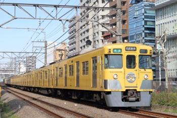 2020年3月16日。高田馬場〜下落合。2007F+2405Fの4608レ。