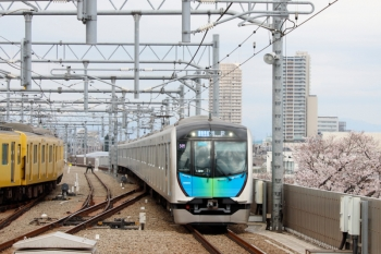2020年3月23日。石神井公園。40103Fの4652レ(54M運用)。