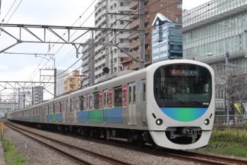 2020年3月27日。高田馬場〜下落合。30106F(観光広告)の2642レ。