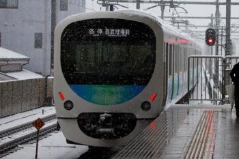 2020年3月29日。中村橋。10時10分ころに回送で通過していった38111Fが5351レで戻ってきました。