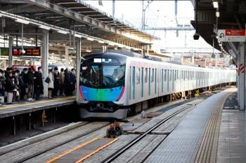 2020年4月2日。所沢。40101Fの502レ・S-Train 豊洲ゆき。