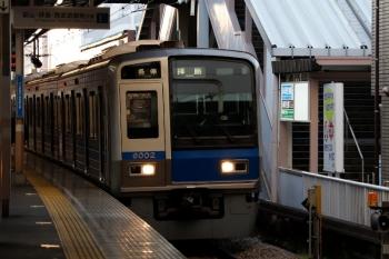 2020年4月3日 6時5分ころ。小平。1番ホームへ到着する6102Fの下り回送列車。10分ほど停車して5407レになりました。
