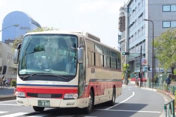2020年4月9日。高田馬場駅近く。