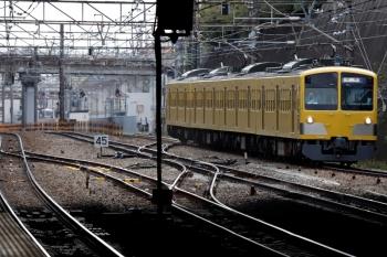2020年4月11日 14時1分ころ。新秋津。西武線へ戻る263F。
