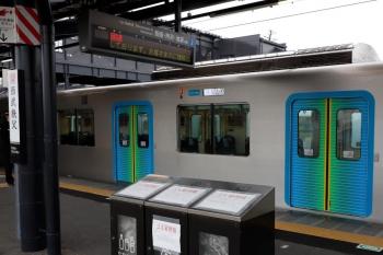 2020年4月18日。西武秩父。到着した40101FのS-Train。