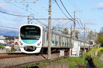 2020年4月19日 6時40分ころ。元加治。30103Fの上り回送列車。