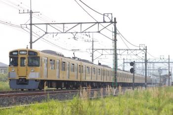 2020年5月3日 6時40分ころ。元加治。9105Fの上り回送列車。
