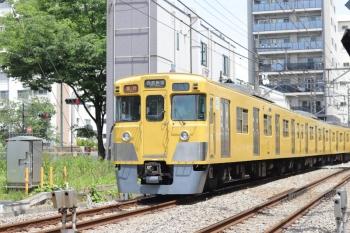 2020年5月15日。高田馬場〜下落合。2007F+2457Fの2644レ。