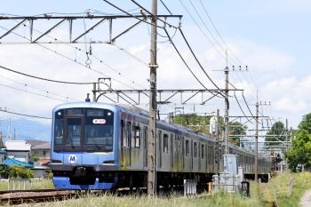 2020年5月17日 10時30分ころ。元加治。Y517Fの上り回送列車。1751レの戻しです。