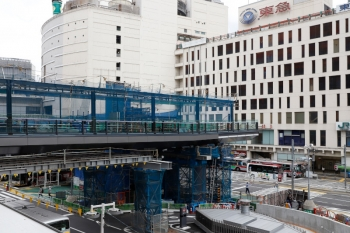 2020年5月31日 15時ころ。渋谷。駅の西側。上の写真の奥側からの撮影です。