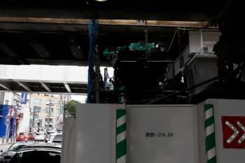 2020年5月31日 15時ころ。渋谷。駅の西側。ホーム北端のすぐ横の橋の下です。
