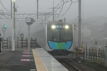 2020年6月26日。元加治。40105Fの3108レ。霧が出てました。