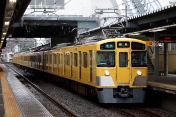 2020年6月28日。東長崎。池袋から折り返してきた2463F+2073Fの4121レ。