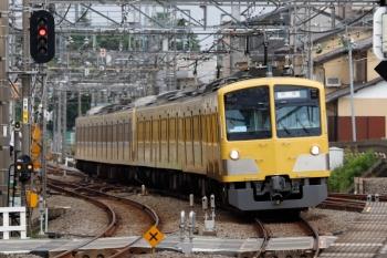 2020年7月5日。西所沢。263F+1249Fの下り回送列車。